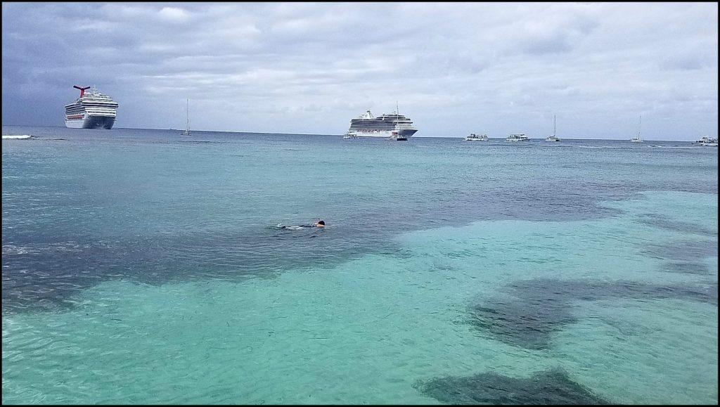 Sara Snorkeling Grand Cayman