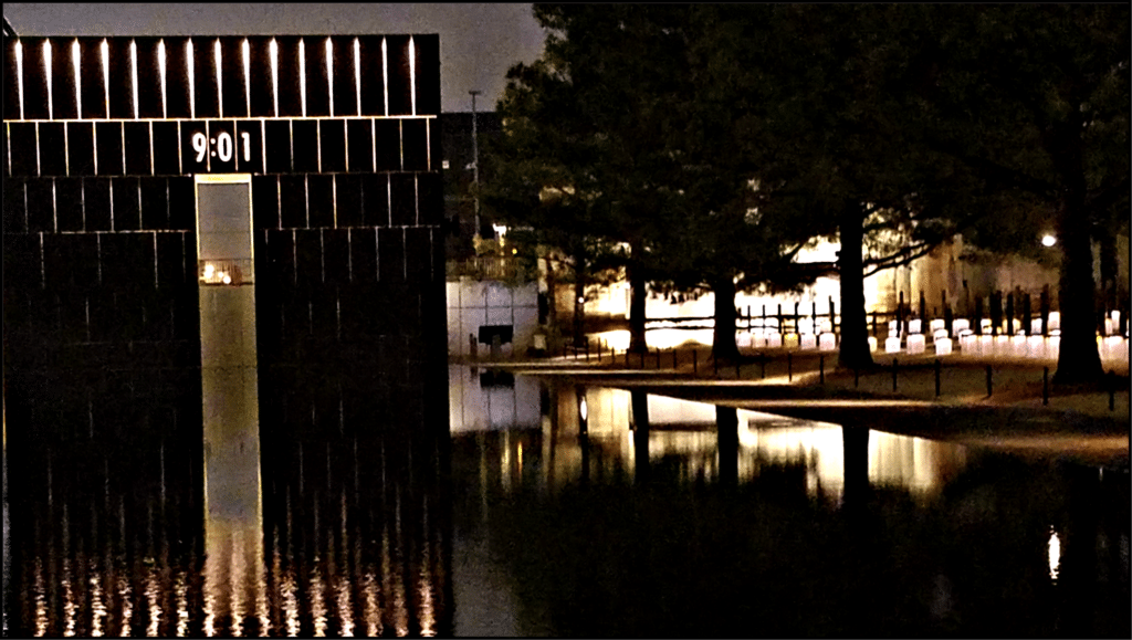 9:01 OKC Memorial
