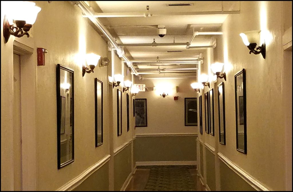 Hallway at Casa Marina