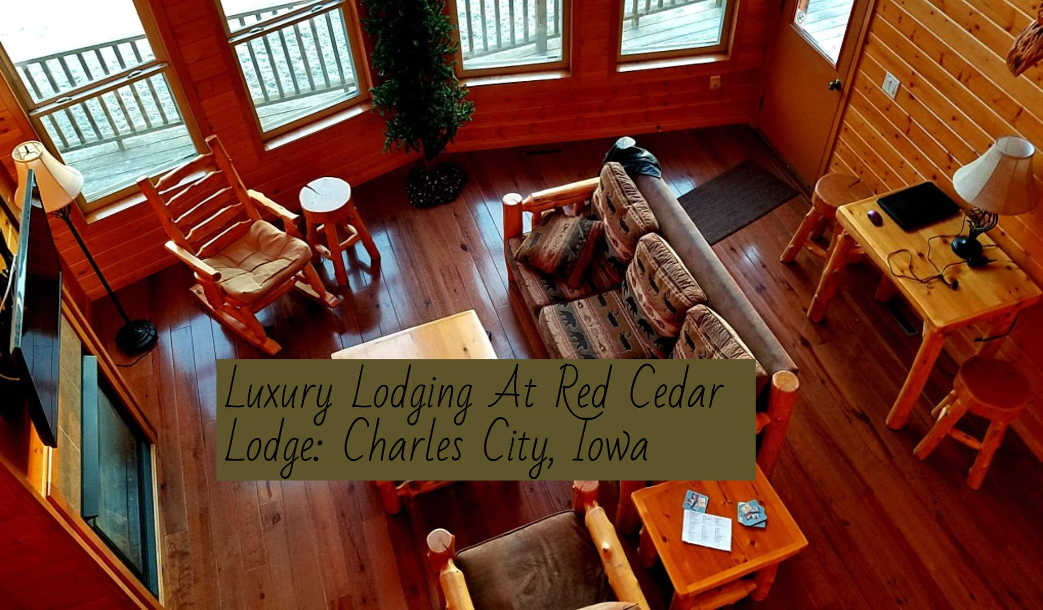 A Romantic Get A Way At Red Cedar Lodge In Charles City, Iowa