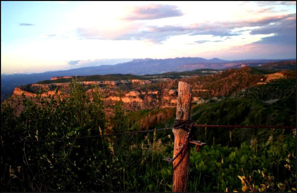 fence Mesa Verde