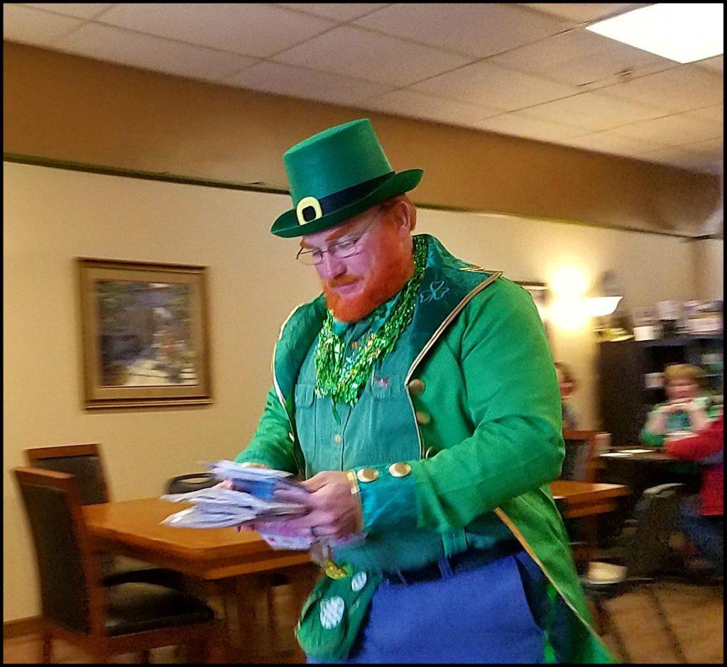 Mail Man St. Patricks Day