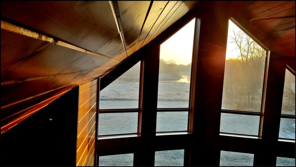 Red Cedar Lodge Sunrise