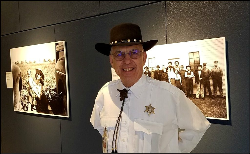 Sheriff at Cowboy Museum