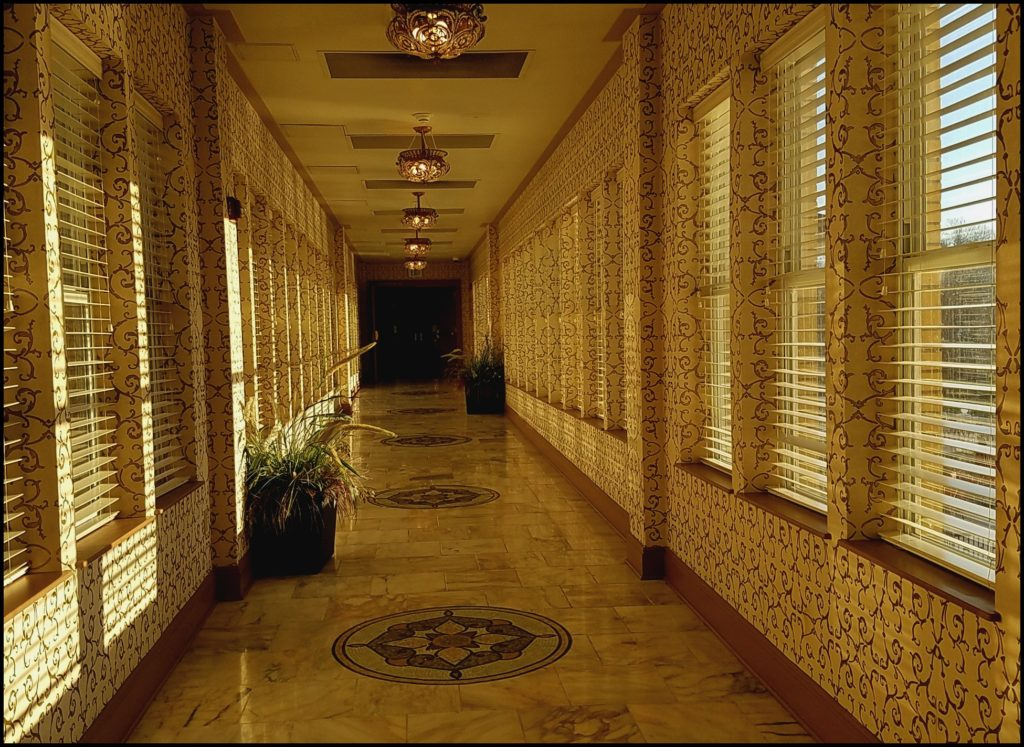 Hallway To Spa At French Lick Resort