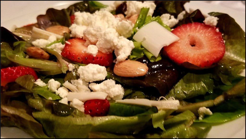 salad at French Lick Resort