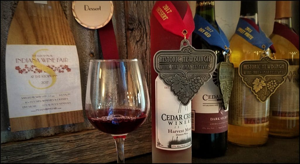 Cedar Creek Wine Winners