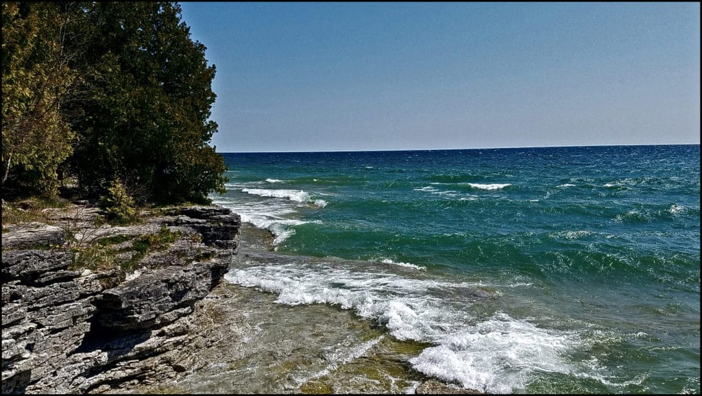 Door County Wisconsin Shoreline