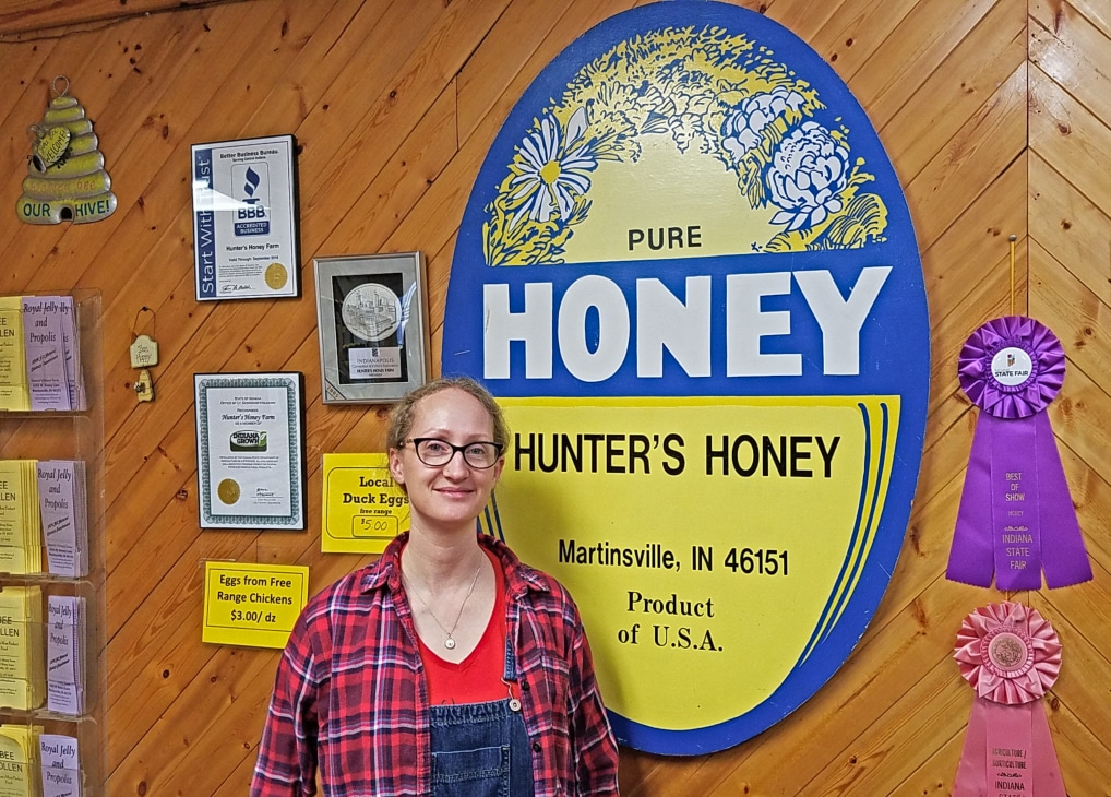 A Honey Of A Find In Morgan County, Indiana: Hunter Honey Farm