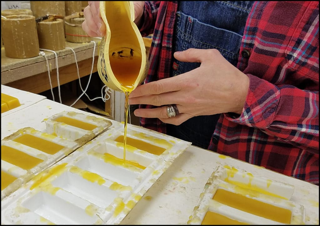 Beeswax Hunter's Honey Farm