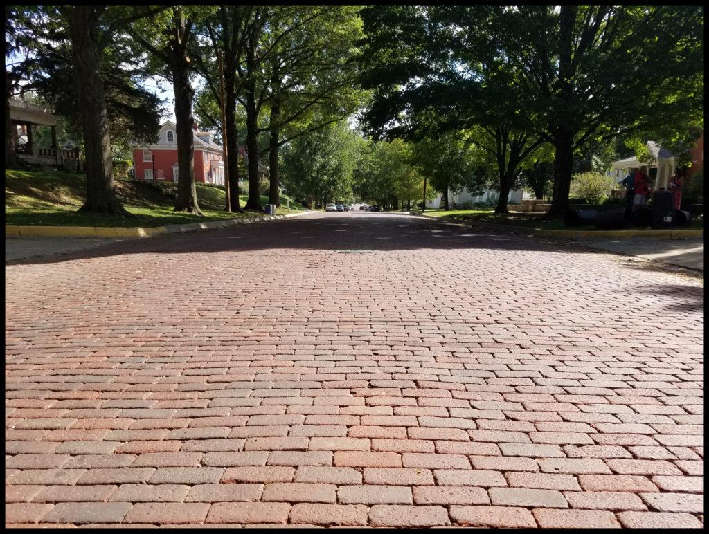 Brick Street Atchison Kansas