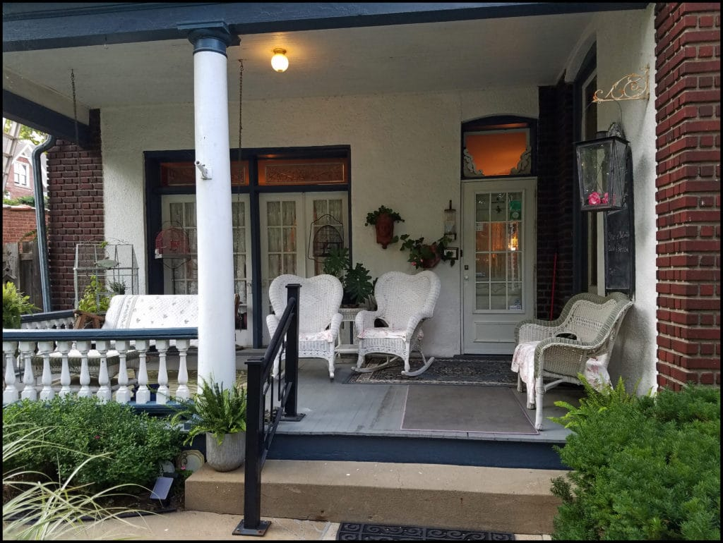 Porch at The Glick
