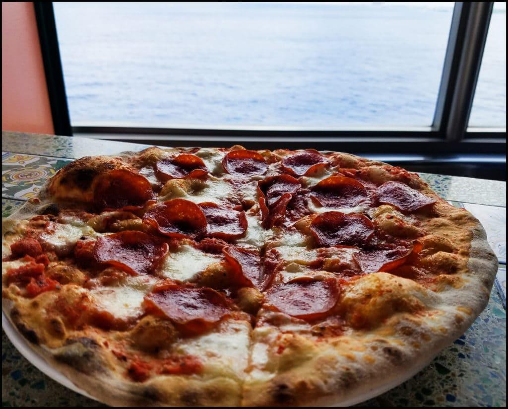 Carnival Victory Pizza
