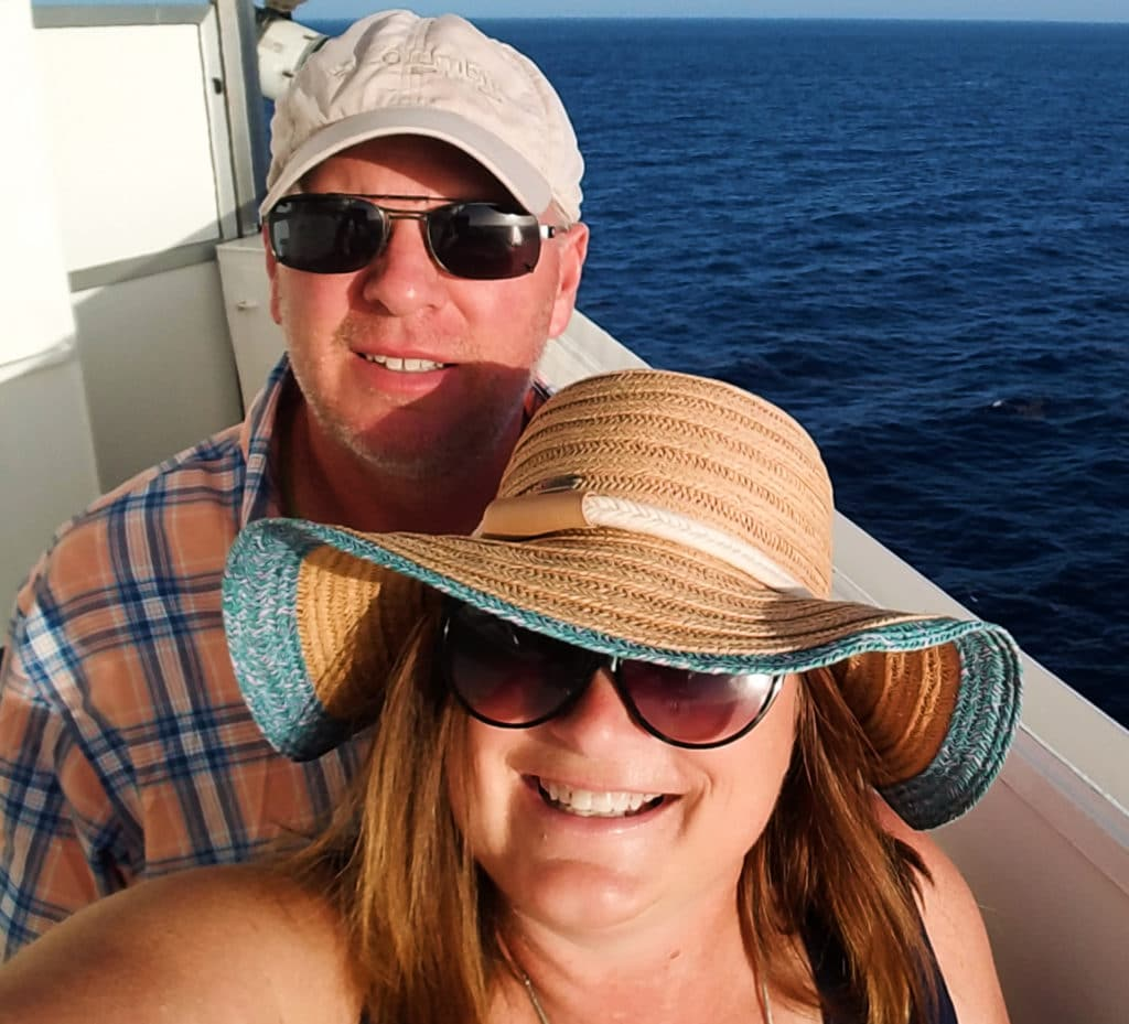 On Board Carnival Victory