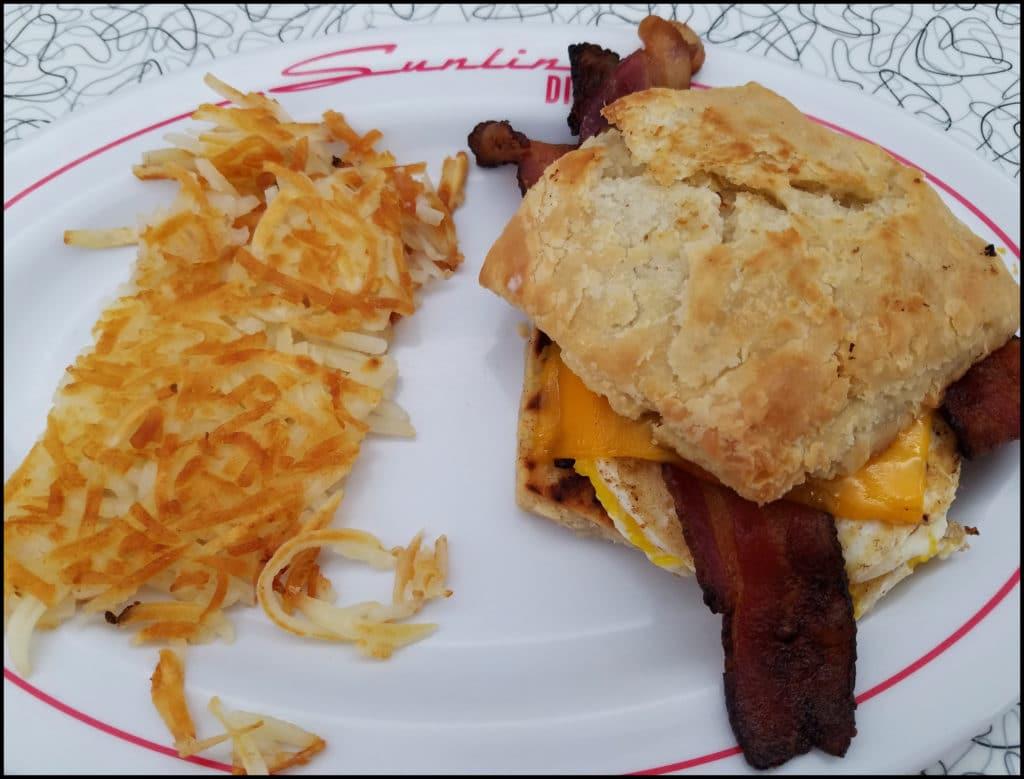 Breakfast sandwich Sunliner
