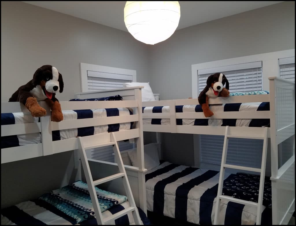 Bunk Beds Just Jammin'