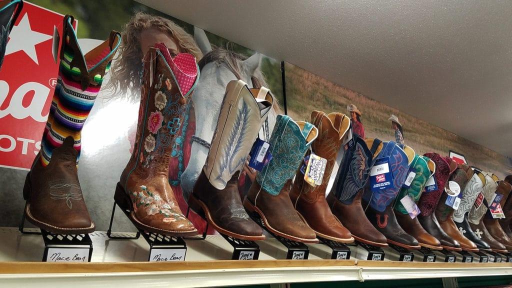 Boots in Medora