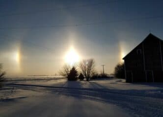 Iowa Winter Sundogs
