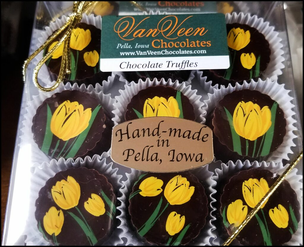 Pella Chocolate Tulips