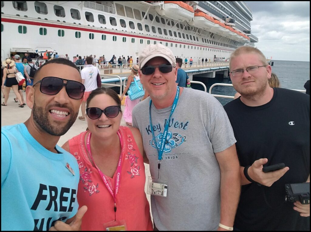 Matt Mitcham Carnival Cruise Director