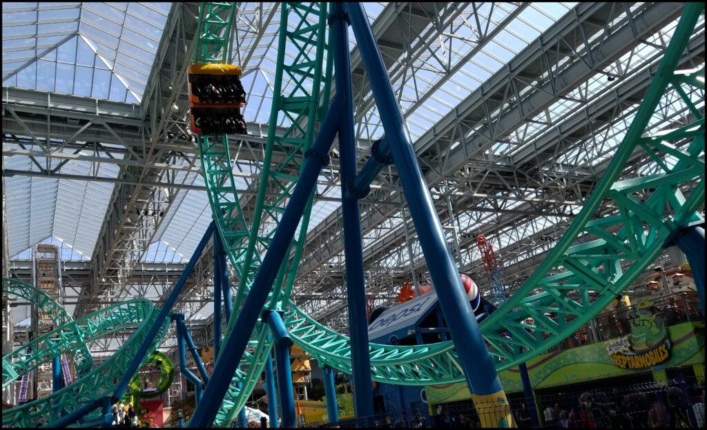 Roller Coaster Mall of America