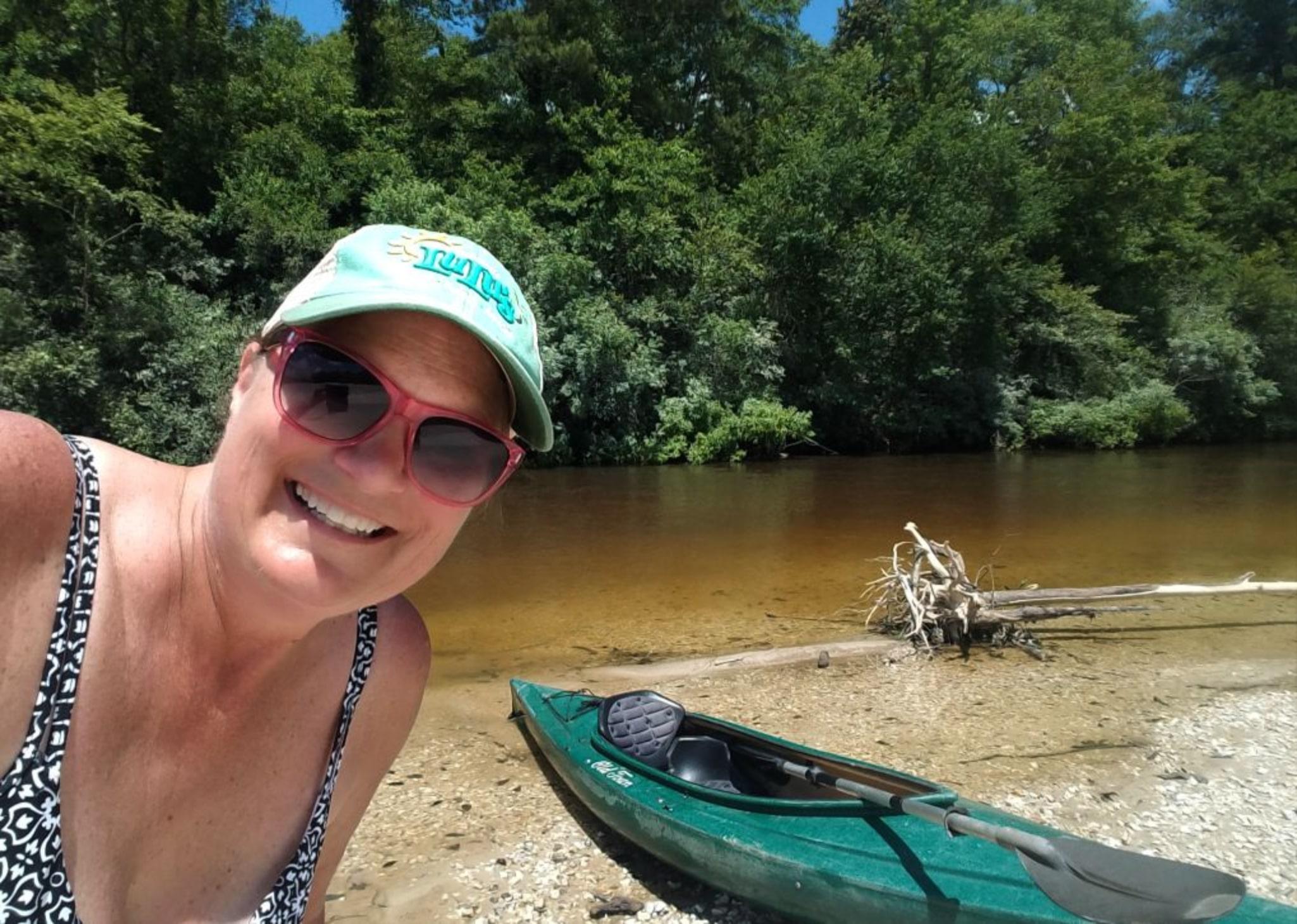 A River Kayaking Adventure Along Mississippi's Secret Coast