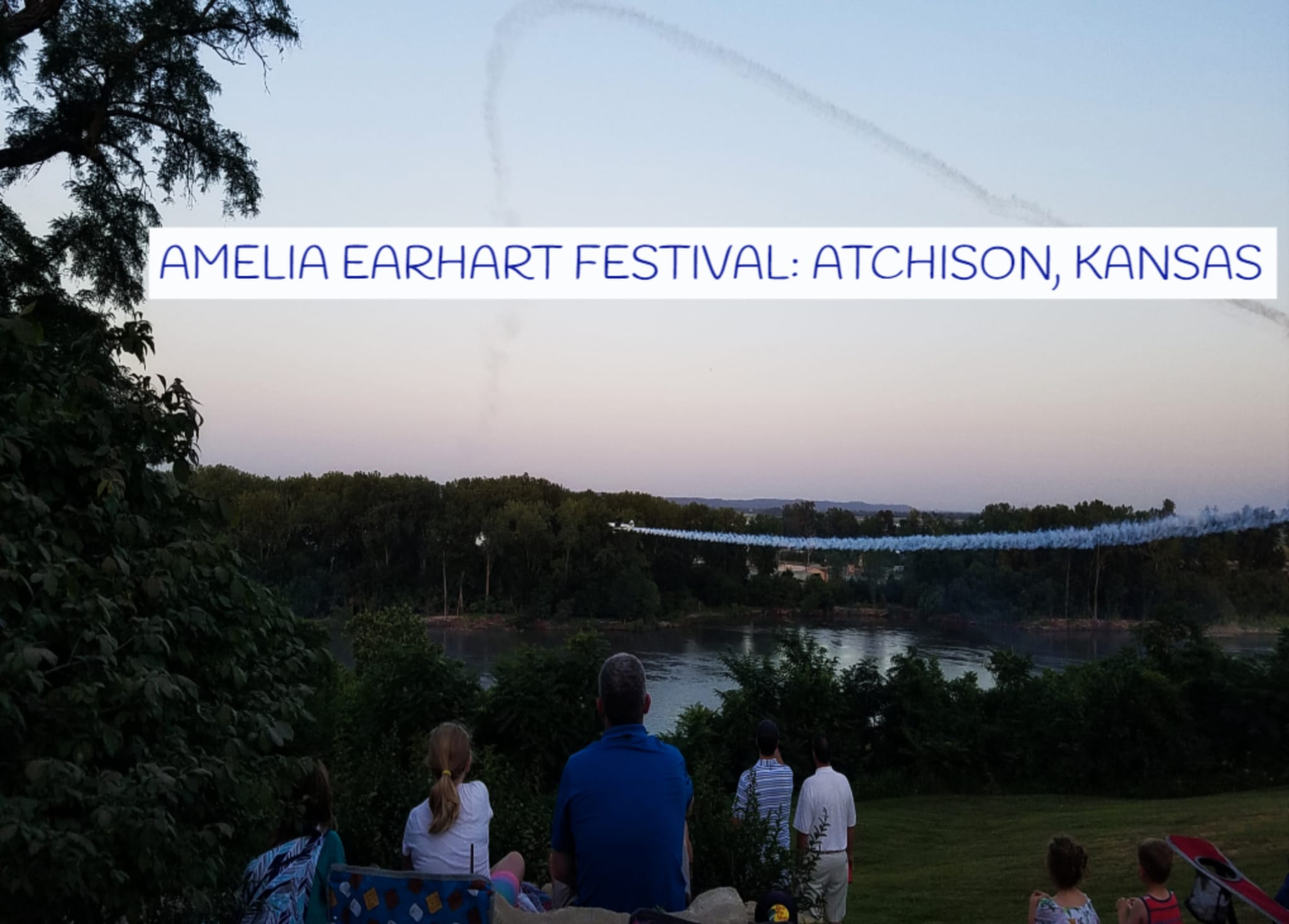 Highlights Of The Amelia Earhart Days In Atchison, Kansas