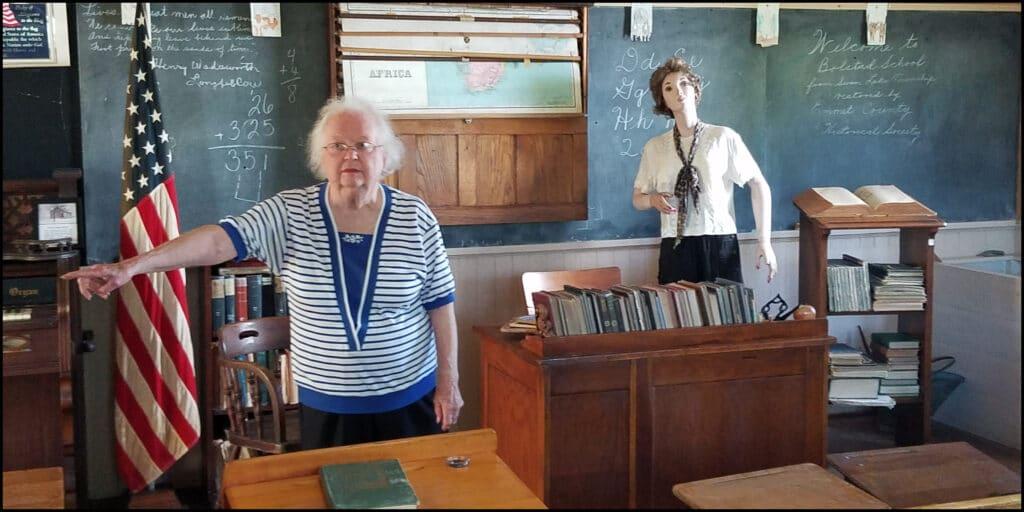Schoolhouse Emmet County Museum Estherville Iowa