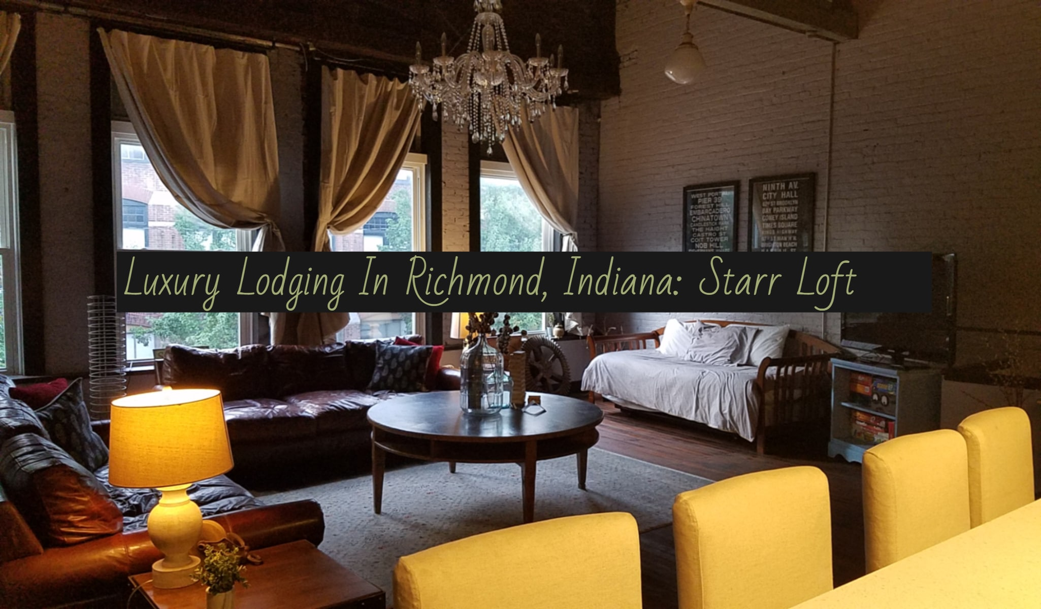 Downtown Richmond, Indiana Offers Luxury Lodging At Starr Loft