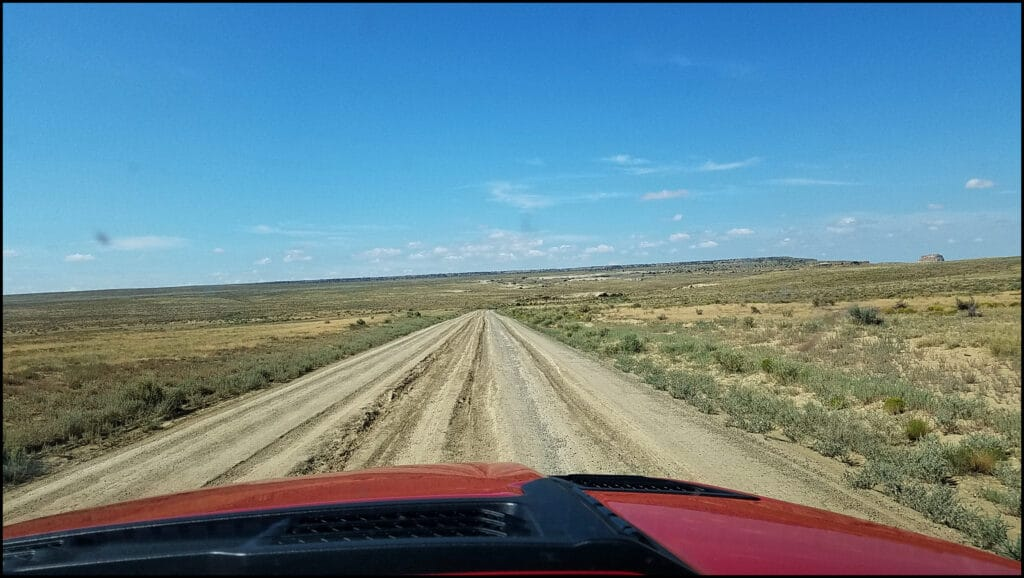 Road to Chaco Historic Site New Mexico