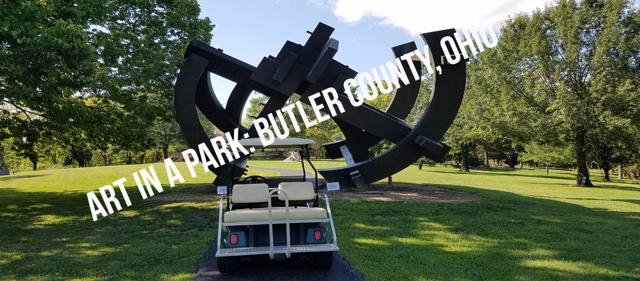 Art In A Cart- Who Knew? Head to Butler County, Ohio For This Fun Experience