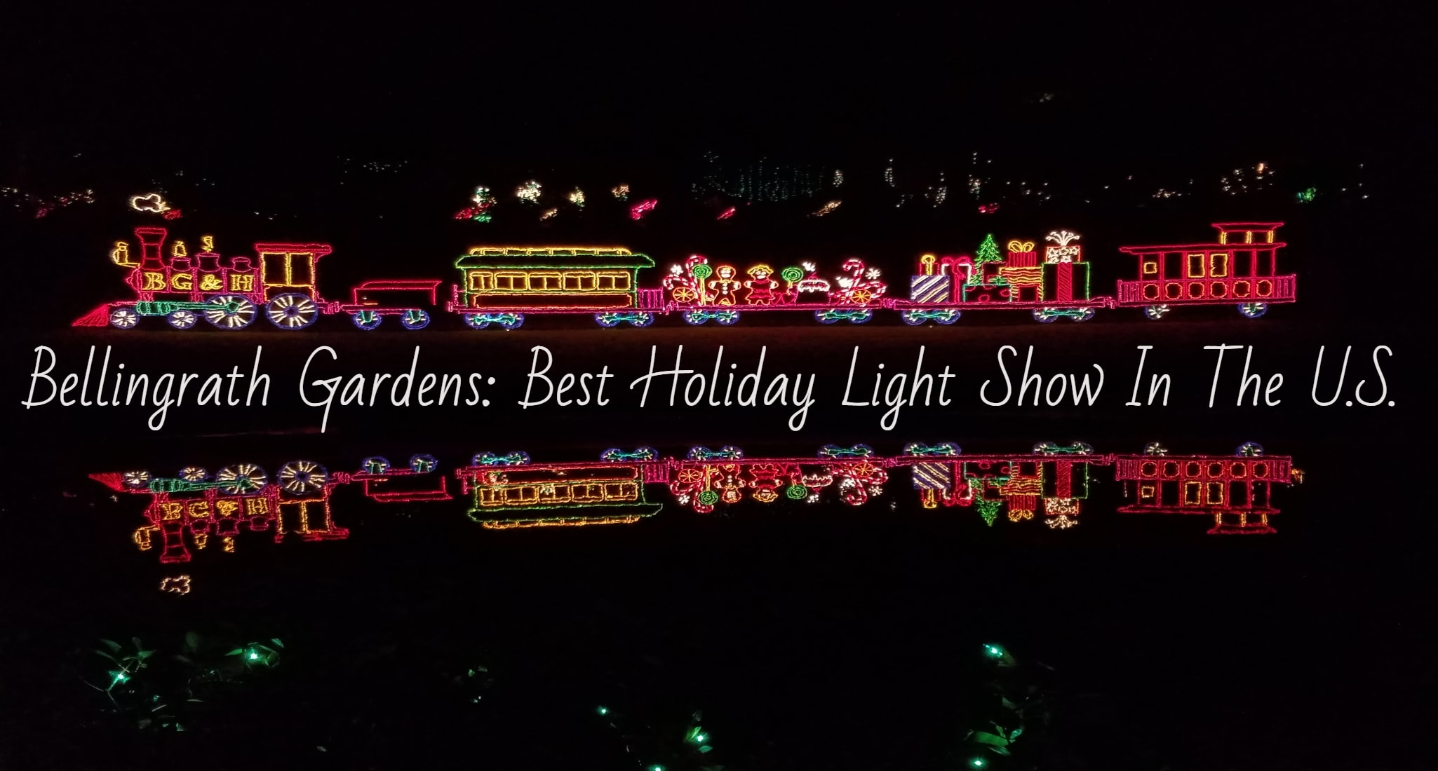 The Best Holiday Light Show In The United States: Bellingrath Gardens & Home