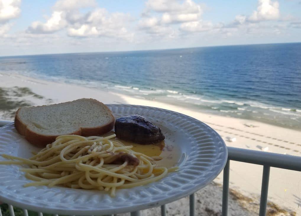 Steak on Beach