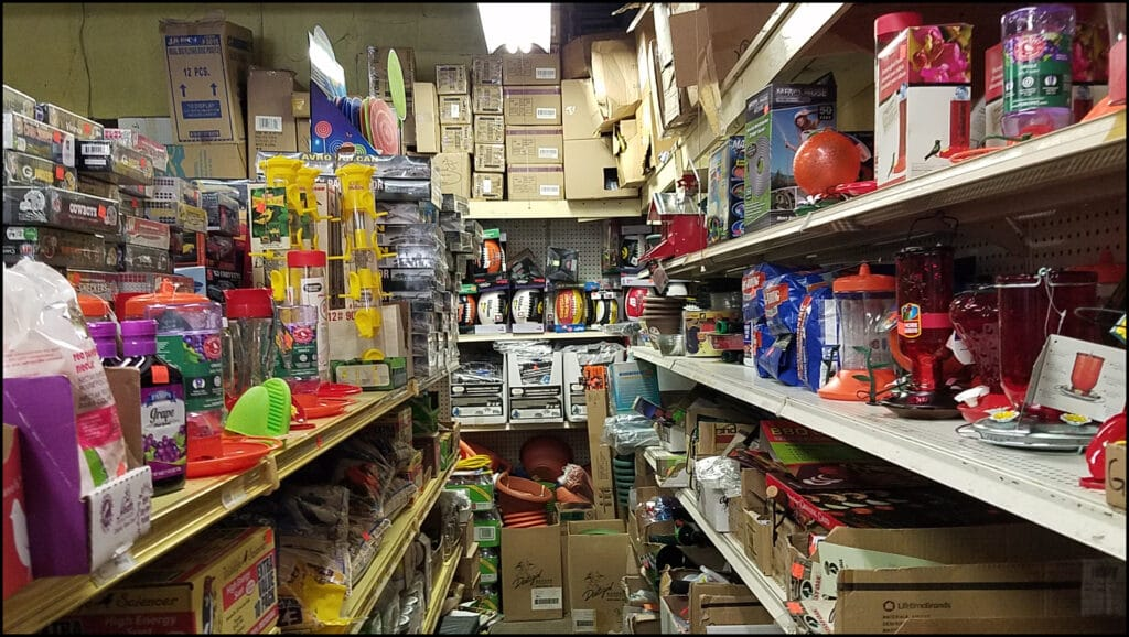 Aisles In Horsfall's Variety Store