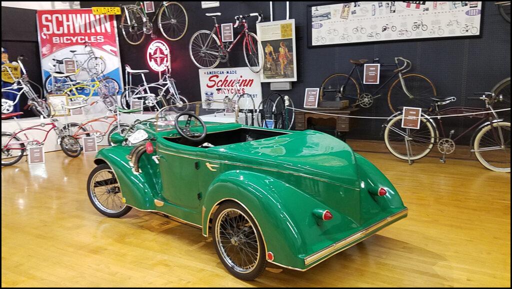 Bicycle Museum Car