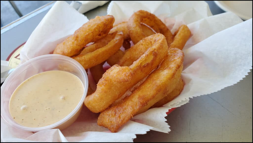 onion rings Pass a Grille
