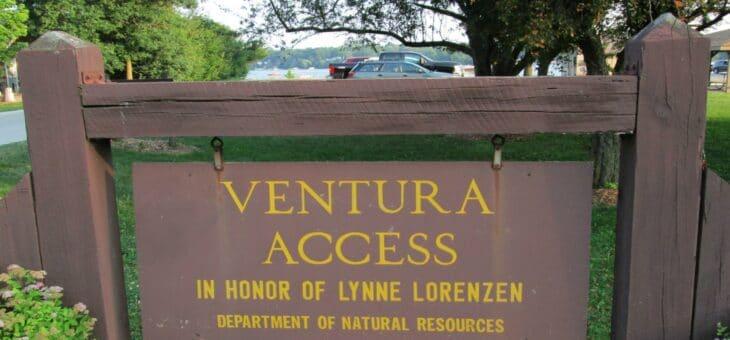 Lynne Lorenzen Park In Ventura, Iowa Offers A Handy Boat Launch For Clear Lake Boaters