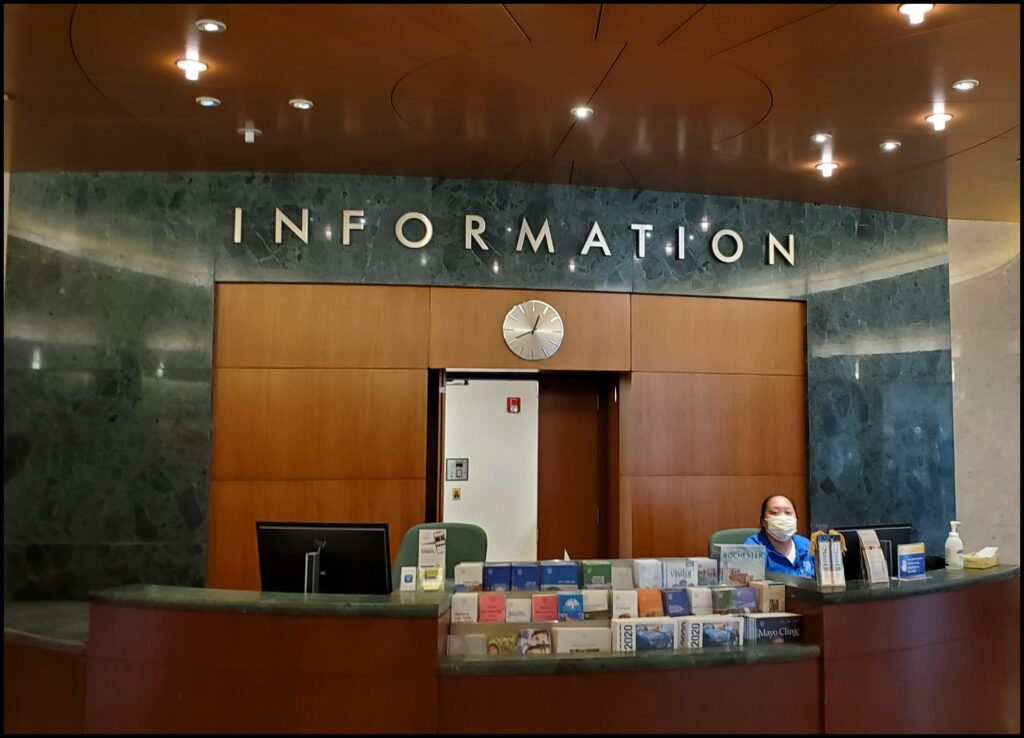 Information Center Mayo Clinic