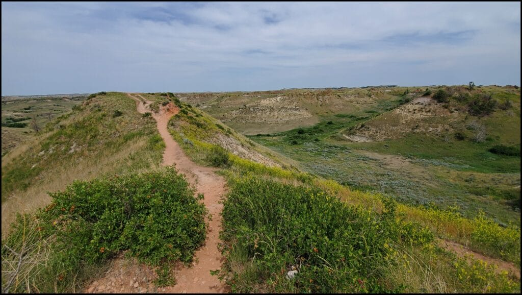 Hiking in North Dakota