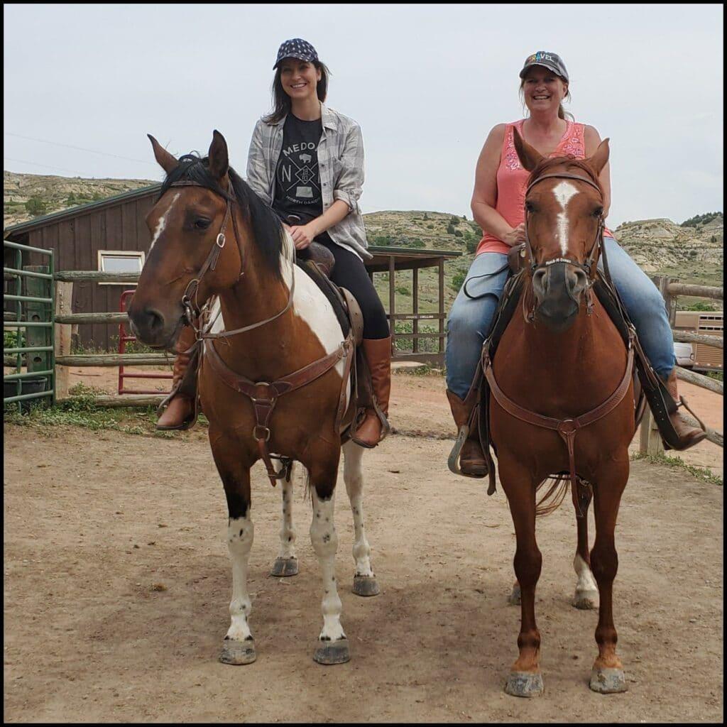 horseback riding medora