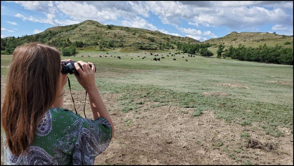 binoculars national park