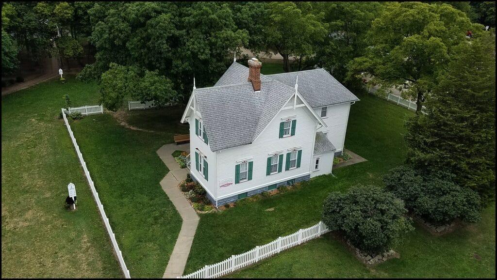 Marblehead Lighthouse Grounds Ohio