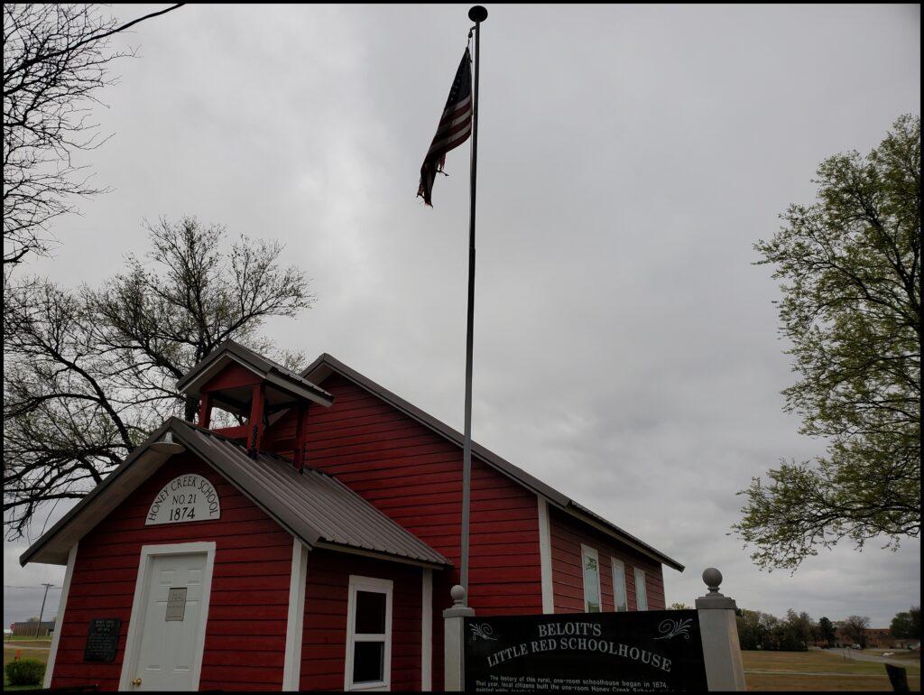 North Central Kansas schoolhouse