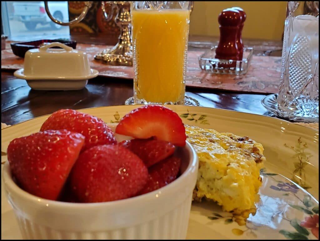 Engle House Breakfast