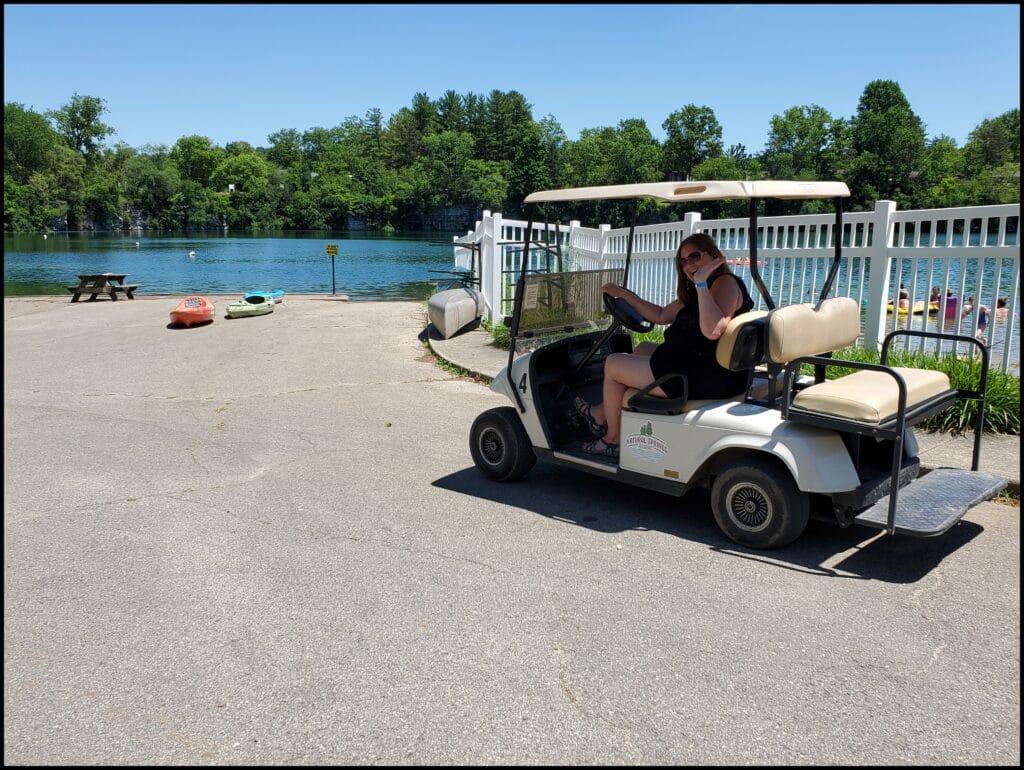 Golf Cart Natural Springs