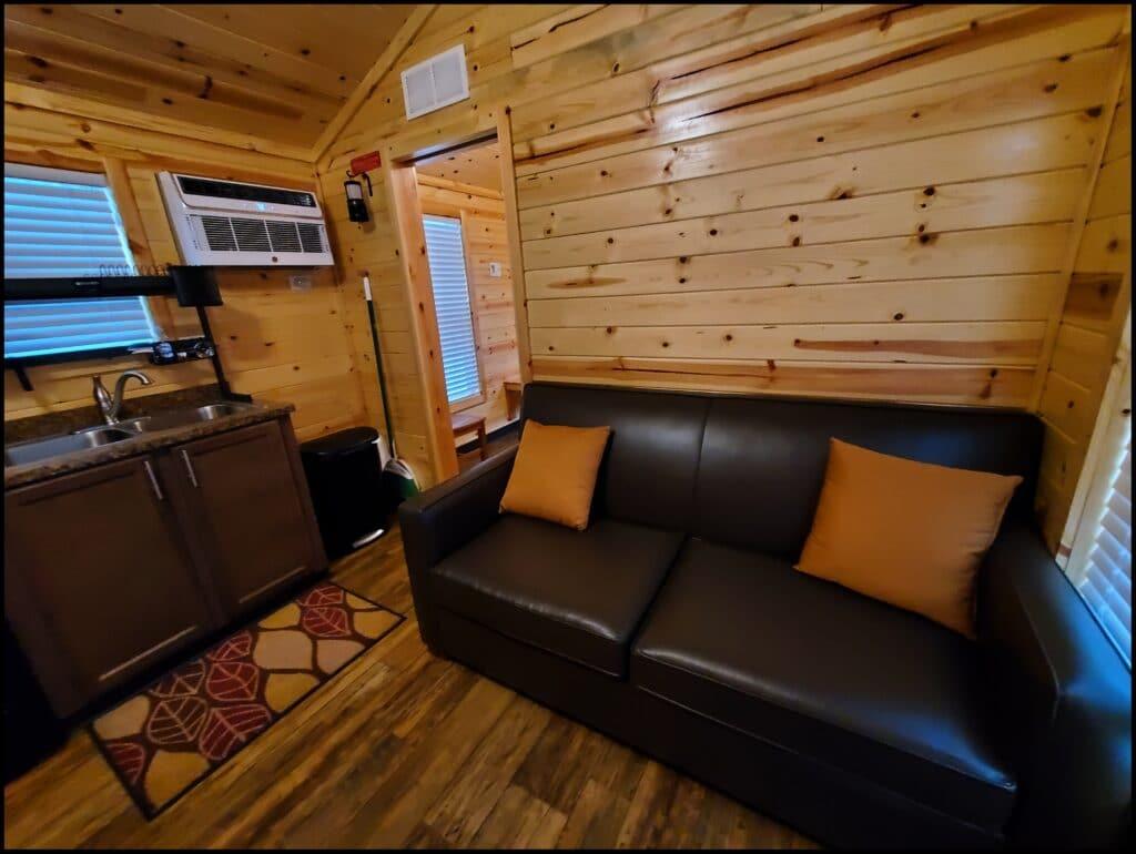 cabin at Natural Springs