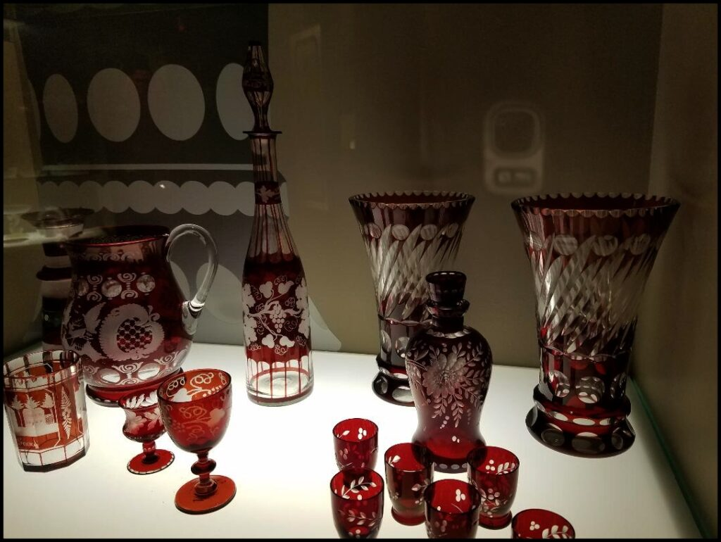 glass in museum